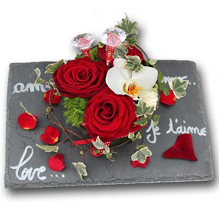 La saint valentin pourquoi offrir des fleurs le 14 f vrier le blog fleursinfo - Composition st valentin ...