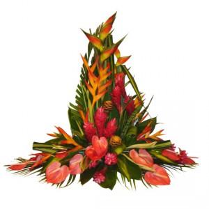 fleurs exotiques fleurs tropicales dans l 39 art floralle blog fleursinfo. Black Bedroom Furniture Sets. Home Design Ideas