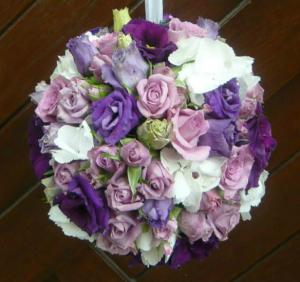 boule de fleurs pour mariage