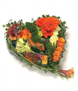 cur de fleurs deuil