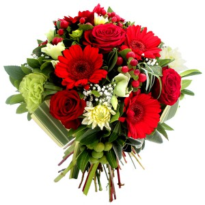 bouquets de saint valentin: bouquet de fleurs Saint-Valentin