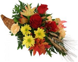 fleurs en corne d'abondance