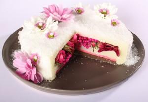 gateaux de fleurs anniversaire: framboisier