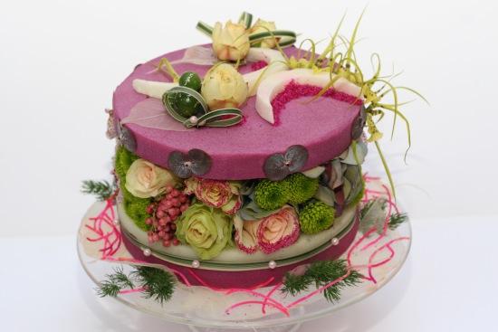 Fleurs Anniversaire Les Gateaux De Fleursle Blog Fleursinfo