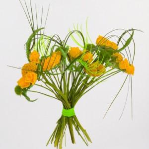 bouquet de fleurs: bouquet à structure en éventail