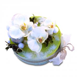 fleur de Noël: gâteau de fleurs