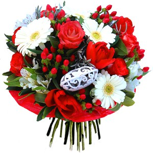 "bouquet saint valentin: bouquet ""Bella Vita"""