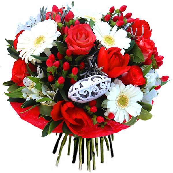 Bouquet saint valentin tendances et nouveaut s 2015 le for Bouquet de fleurs 123