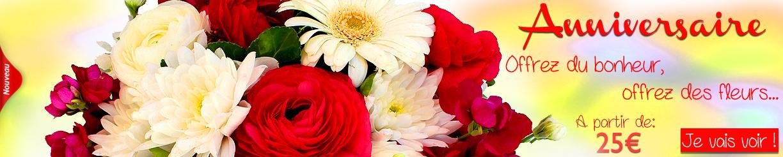 Livraison fleurs faire livrer des fleurs floraclic for Livrer des fleurs demain
