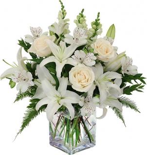 Fleurs mariage livraison fleurs et bouquet de mariage en 4h floraclic - Lys blanc signification ...