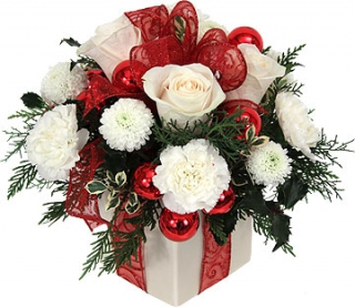 Fleurs de no l livraison du bouquet de no l cadeau for Bouquet cadeau