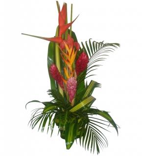 livraison fleurs exotiques bouquet tropical floraclic. Black Bedroom Furniture Sets. Home Design Ideas
