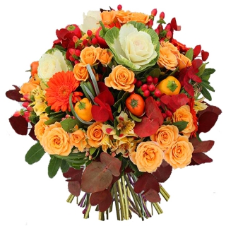 livraison de fleurs: fleurs d'automne