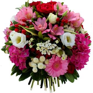 Livraison fleurs du bouquet d 39 anniversaire elyse par for Bouquet de fleurs 50 ans