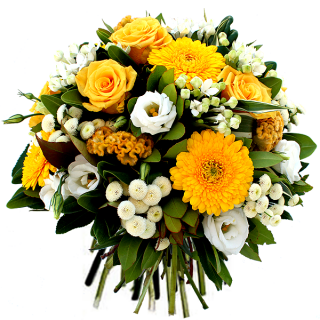 Livraison fleurs bouquet f te des grand m res vanille for Bouquet de fleurs jaunes