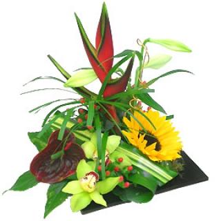 fleurs exotiques Livraison