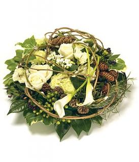 fleurs deuil livraison coussin de fleurs blanches deuil. Black Bedroom Furniture Sets. Home Design Ideas
