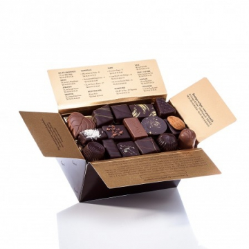 livraison fleurs et chocolats ballotin de chocolats vari s. Black Bedroom Furniture Sets. Home Design Ideas