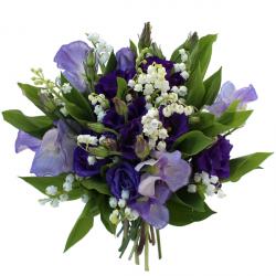 Livraison muguet bouquet rond de muguet et roses villandry for Bouquet de fleurs muguet