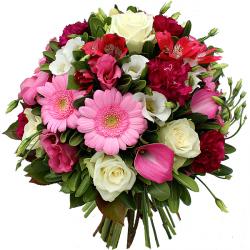 Fleurs anniversaire livraison express domicile 7j 7 for Bouquet de fleurs lumineux