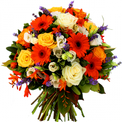 Bouquets de fleurs orange « Bouquet Provence »