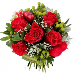 Bouquets de roses rouges « Bouquet Allure »
