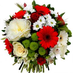 Fleurs anniversaire livraison domicile bouquet de for Livraison bouquet de fleurs a domicile