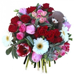 Fleurs Saint Valentin « Bouquet Sweet Love »
