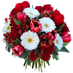 Fleurs saint valentin bouquet saint valentin floraclic for Bouquet st valentin pas cher