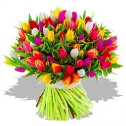 bouquet de fleurs tulipes | map titecampagne