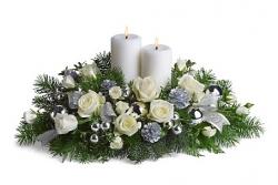Fleurs no l livraison de centres de table de fleurs de - Bouquet centre de table noel ...