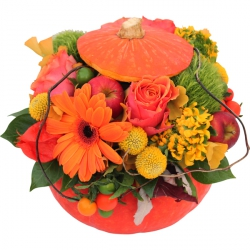 Bouquets de fleurs orange « My Little Pumpkin »