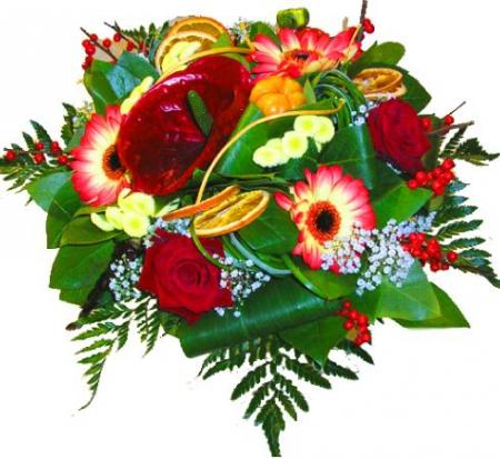 Livraison fleurs du bouquet de fleurs anniversaire fuego for Bouquet de fleurs guadeloupe