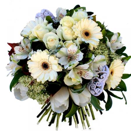 livraison fleurs du bouquet de mariage opale. Black Bedroom Furniture Sets. Home Design Ideas