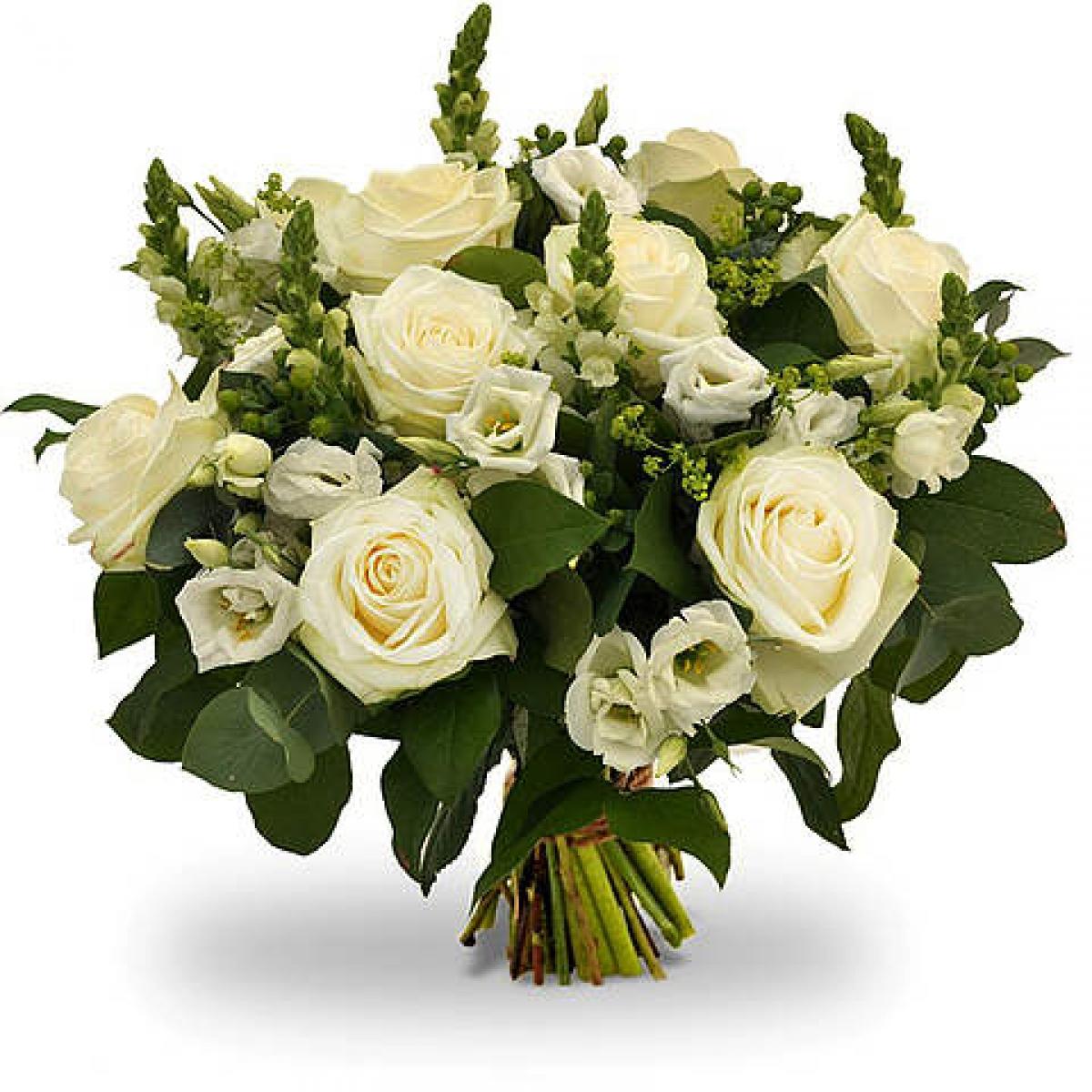 livraison fleurs bouquet de fleurs mariage amande floraclic. Black Bedroom Furniture Sets. Home Design Ideas