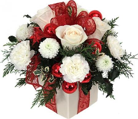 fleurs de no l livraison du bouquet de no l cadeau. Black Bedroom Furniture Sets. Home Design Ideas