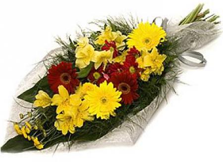 Livraison fleurs deuil bouquet de fleurs deuil 1er prix for Bouquet de fleurs jaunes