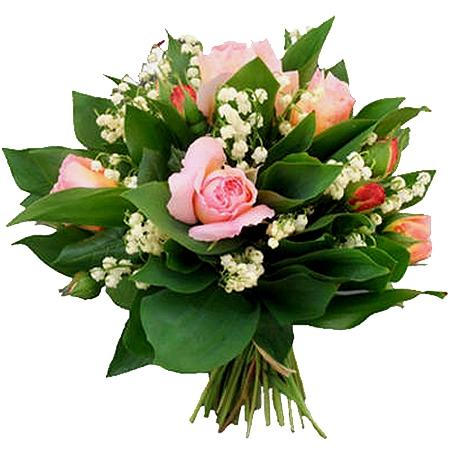 Livraison muguet bouquet tr sor de roses roses et - Photos de bouquet de muguet ...
