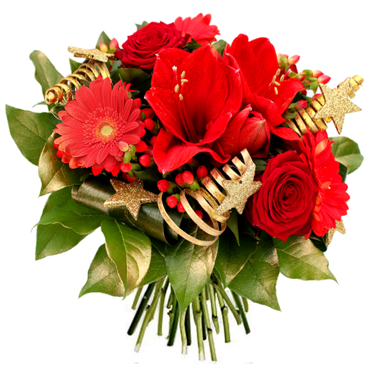 Livraison fleurs de no l bouquet de no l etoile par for Livraison de fleurs demain
