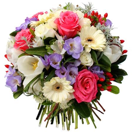 Livraison fleurs bouquet de fleurs anniversaire tendresse for Bouquet de fleurs 123