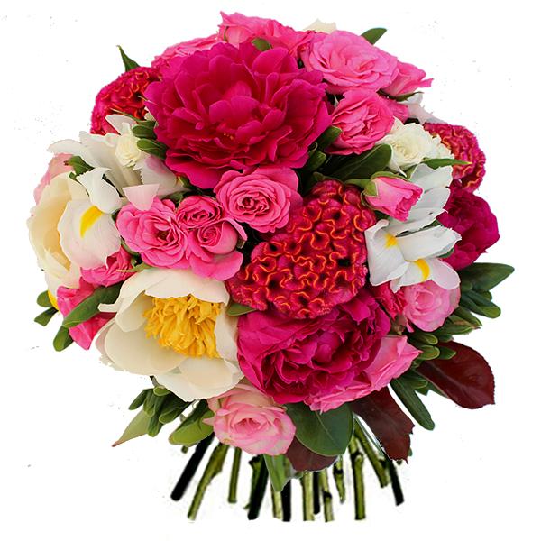 livraison fleurs f te des m res bouquet rose mutine par floraclic. Black Bedroom Furniture Sets. Home Design Ideas
