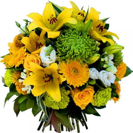 Livraison fleurs bouquet de fleurs anniversaire rio for Bouquet de fleurs jaunes
