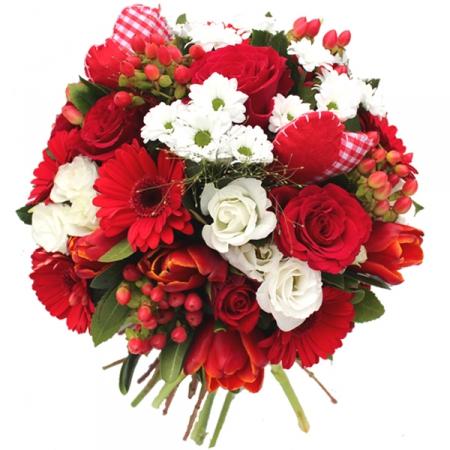 Livraison fleurs du bouquet saint valentin mutine for Bouquet st valentin pas cher