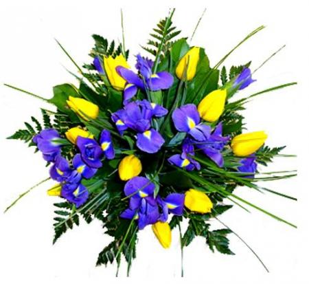 Livraison fleurs bouquet de tulipes lagon floraclic for Fleurs livraison demain