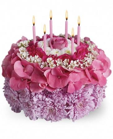 fleurs anniversaire livraison g teau de fleurs fraisier. Black Bedroom Furniture Sets. Home Design Ideas