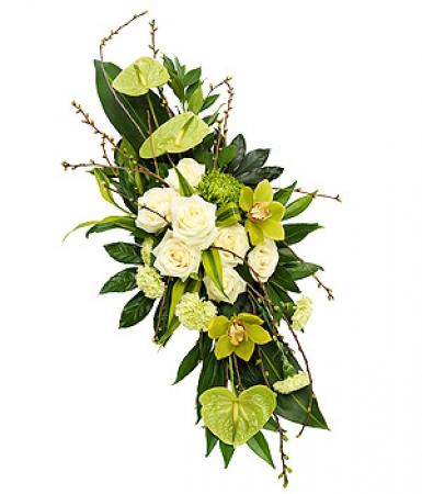 Miniature du produit « Deuil, décès fleurs deuil Raquette